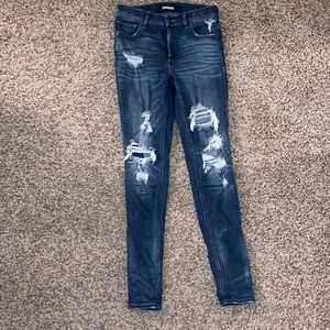Express Distress Jeans